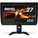 BenQ カラーマネジメントディスプレイ PV270 27インチ/WQHD/IPS/AdobeRGB 99%/DCI-P3 96%/HWキャリブレーション対応/ムラ補正回路/安定まで5分/遮光フード/映像・写真編集用