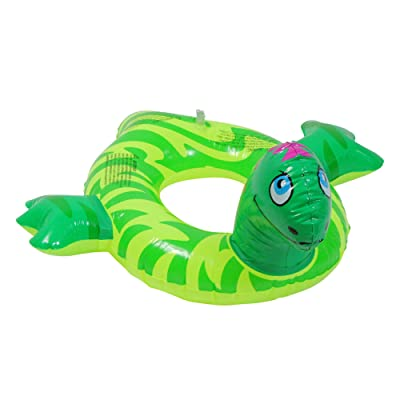 Swimline Inflatable Animal Heads Pool Tube for Kids: Toys & Games