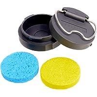 Limpiador de esponja portátil con punta de soldador