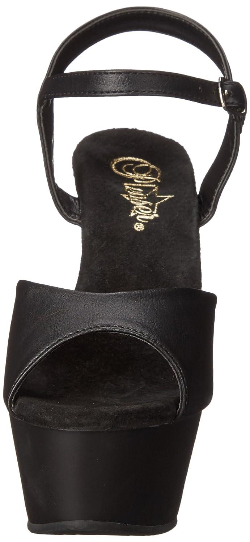 Pleaser Women's B00QPTINGI KISS209/BPU/M Platform Dress Sandal B00QPTINGI Women's 12 B(M) US|Black Faux Leather/Black Matte 9610e6