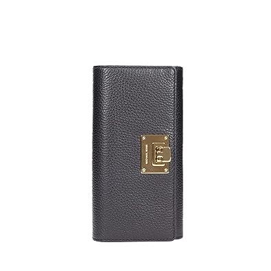 8fbde50c12a8 Amazon.com: Michael Kors Astrid Black Leather Carryall Wallet: Shoes