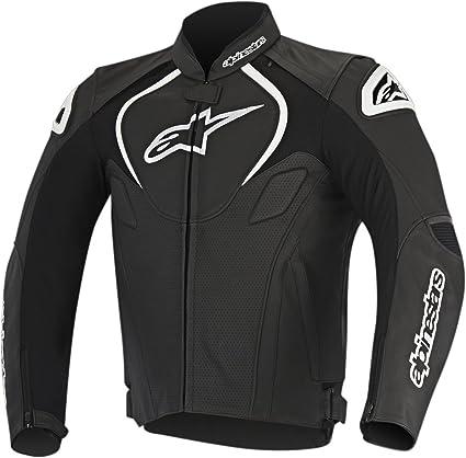 Alpinestars Leather Jacket >> Amazon Com Alpinestars Men S Jaws Perforated Leather Jacket Black