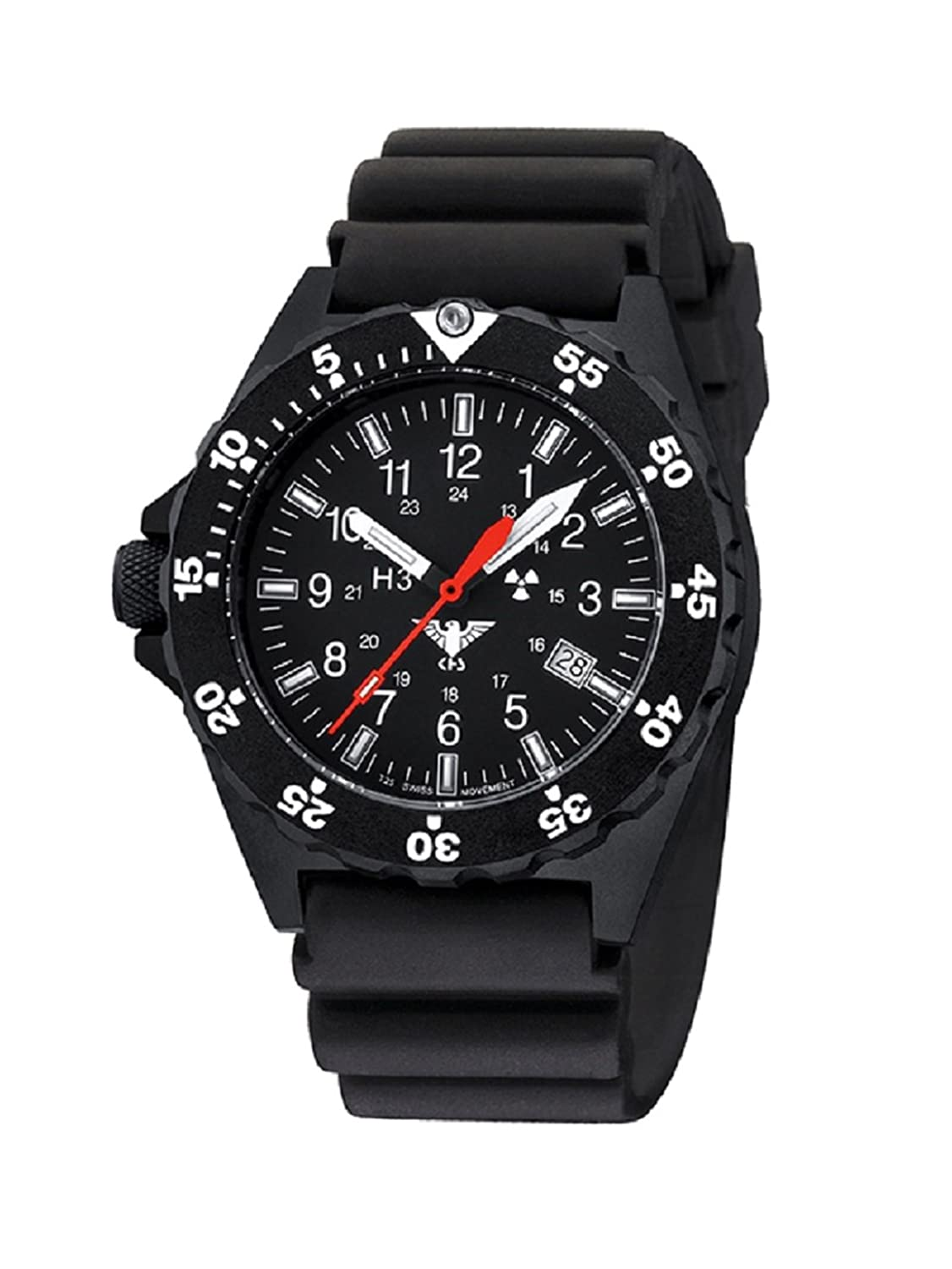 KHS Shooter KHS.SH.D Diverband inkl. Watch-Glass-Protection Schutzfolie