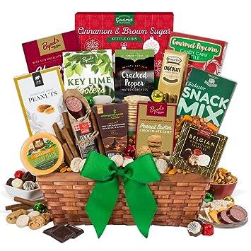amazon com christmas gift basket premium gourmet snacks and hors