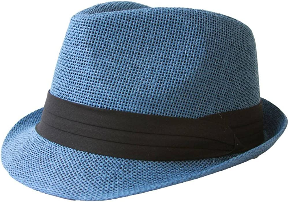 Tweed Classic Cuban Style Fedora Fashion Cap Hat The Hatter Co Navy