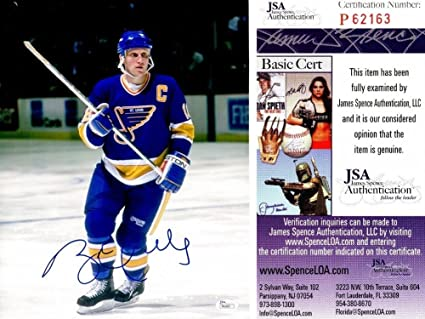 0c12762d8 Brett Hull Autographed Signed St. Louis Blues 11x14 Photo - JSA Authentic