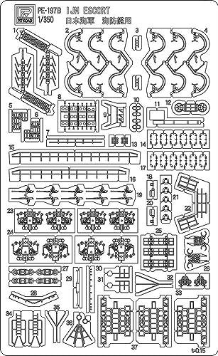 1/350 ピットロードエッチングパーツシリーズ 日本海軍 海防艦 丙型用 2枚組 PE197
