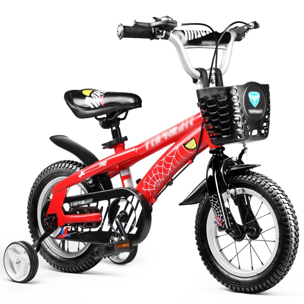 ZHIRONG 子供用自転車 ブルーレッド 12インチ、14インチ、16インチ、18インチ 子供の贈り物金属のおもちゃ ( 色 : 赤 , サイズ さいず : 14 inch ) B07CRKCD6T 14 inch|赤 赤 14 inch
