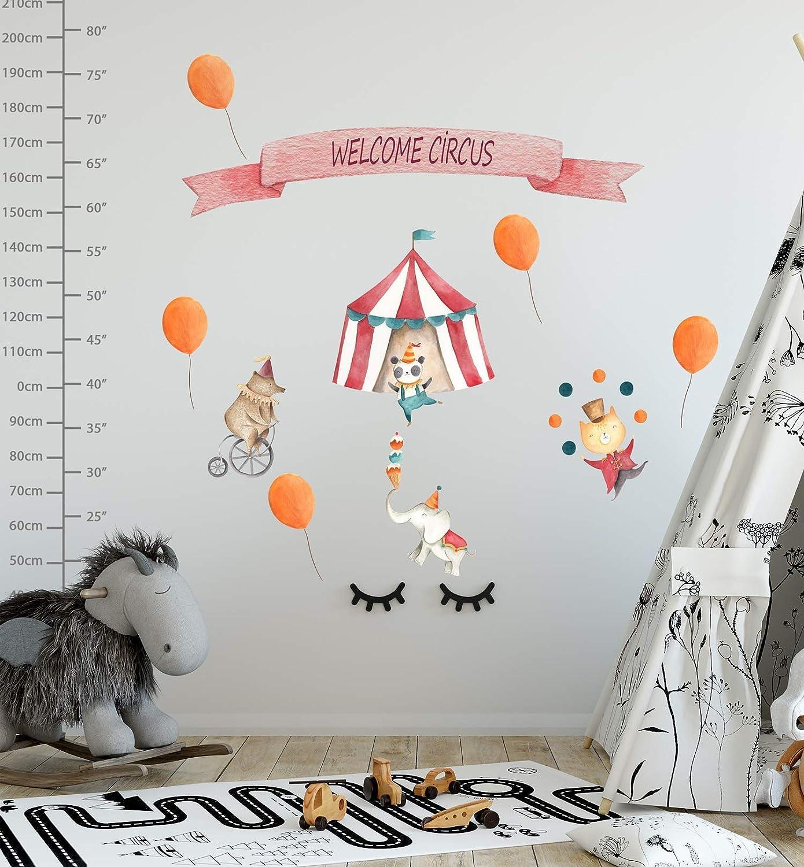Amazon Com Murwall Circus Wall Decal Kids Park Wall Sticker