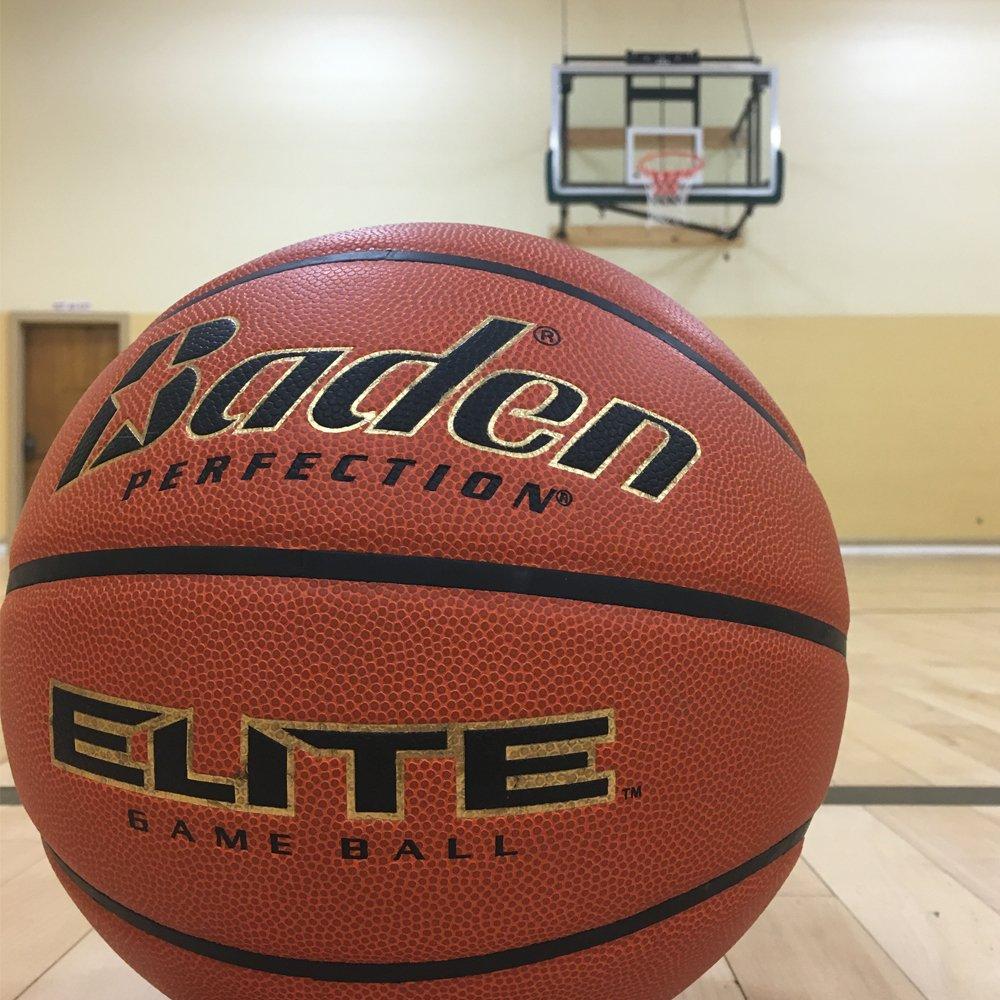 Amazon.com: Baden Elite Indoor Game Basketball, NFHS ...