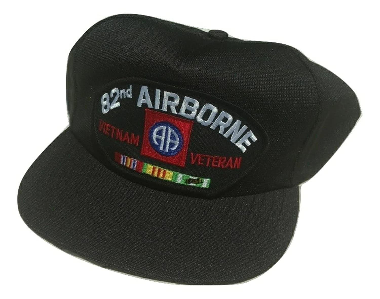8d56477ab358f Amazon.com  HMC US Army 82nd Airborne Vietnam Veteran Adjustable Ball Cap   Clothing