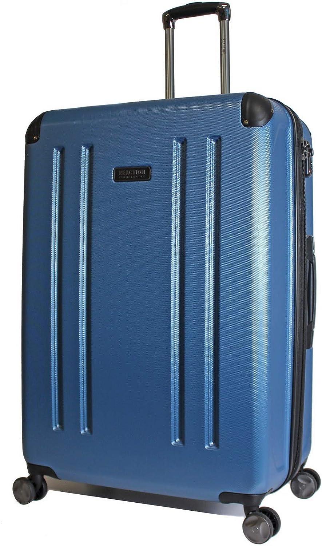 Kenneth Cole Reaction 8 Wheelin Expandable Luggage Spinner Suitcase Medium 25 Ocean Blue