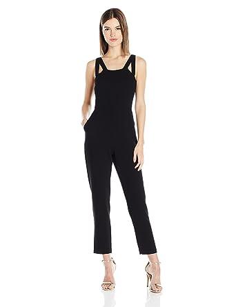 512d08e6c757 Amazon.com  BCBGeneration Women s Cut-Out Jumpsuit