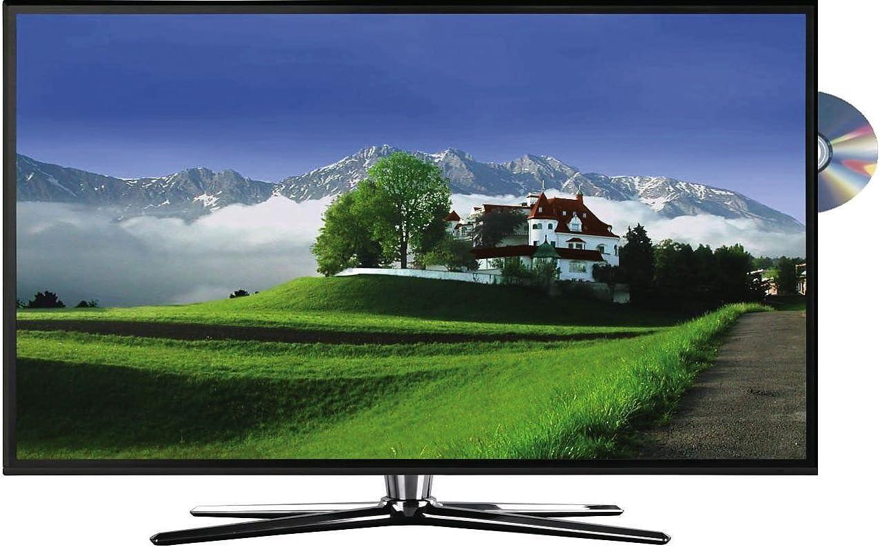 Reflexion LDD2465 - Televisor (pantalla de 60 cm / 24 pulgadas, retroiluminación LED, EEK A, puerto HDMI, euroconector, CI+, DVB-S/-S2/-C/-T, puerto USB, reproductor DVD), color negro (importado): Amazon.es: Electrónica