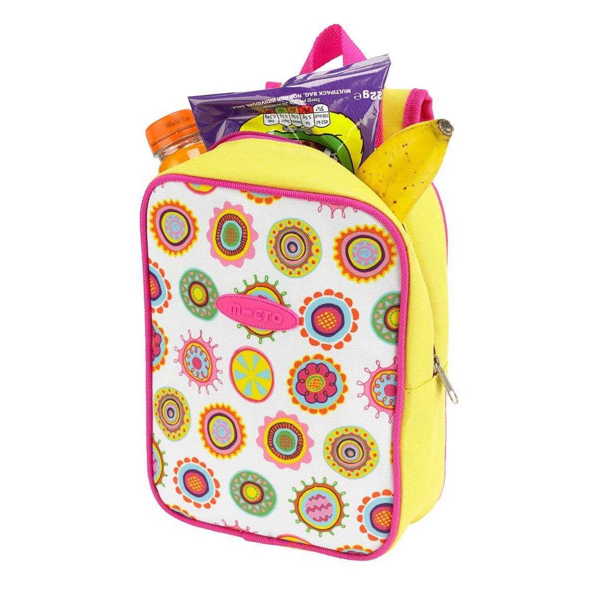 Micro Lunch Bag Doodle Spot Print Picnic Rucksack Bag Cool Bag Girls Childrens