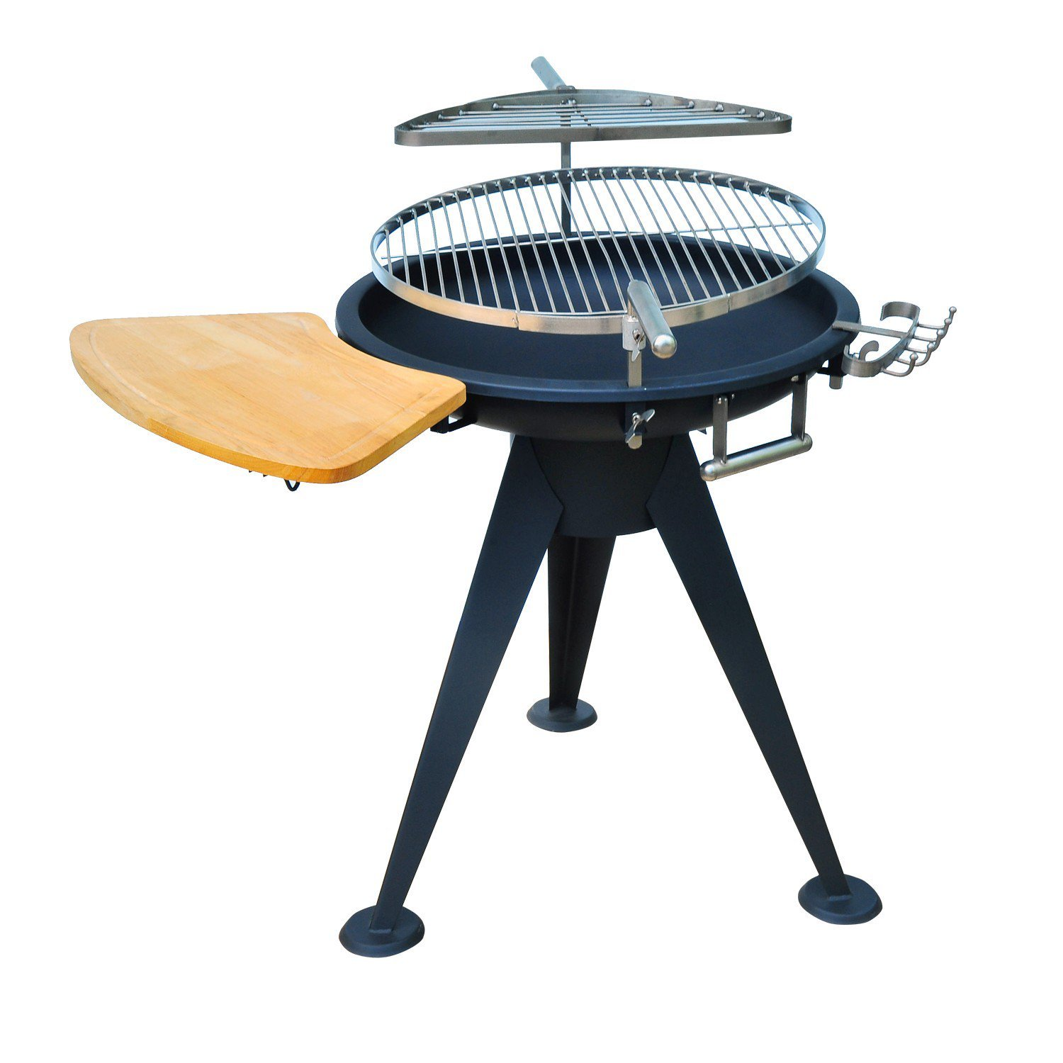 BBQ Round Grill Stove Firepit 22' Cooking Outdoor with ebook by MRT SUPPLY