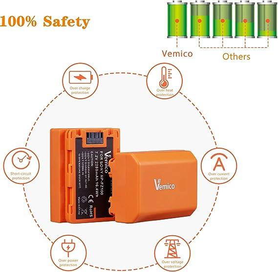 Amazon.com: Vemico NP-FZ100 - Batería recargable para ...