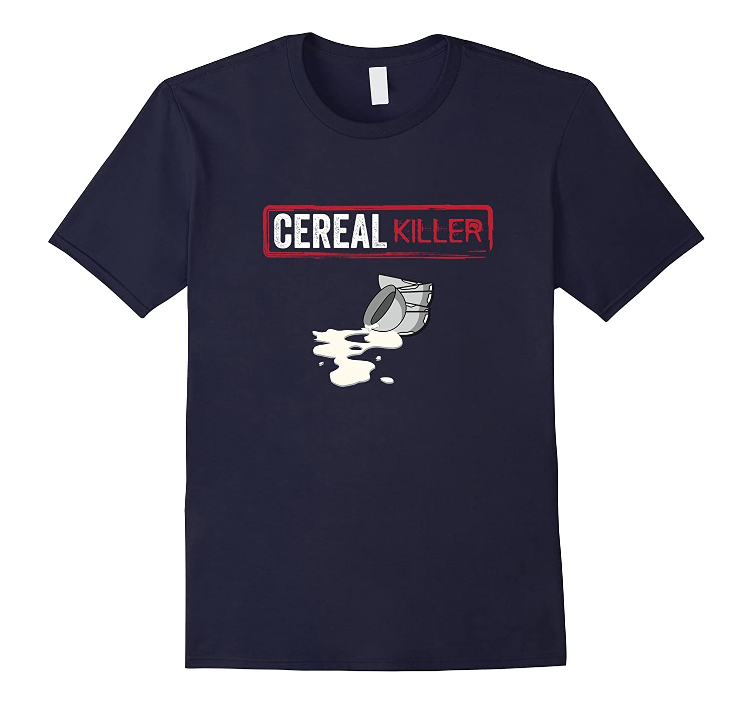 Cereal Killer Funny Halloween Costume Shirt Breakfast Gift-T-Shirt