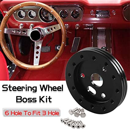 """1//2/"""" Steering Wheel Spacer Kit for 9 hole Steering Wheel to 5/&6 hole Adapter"""