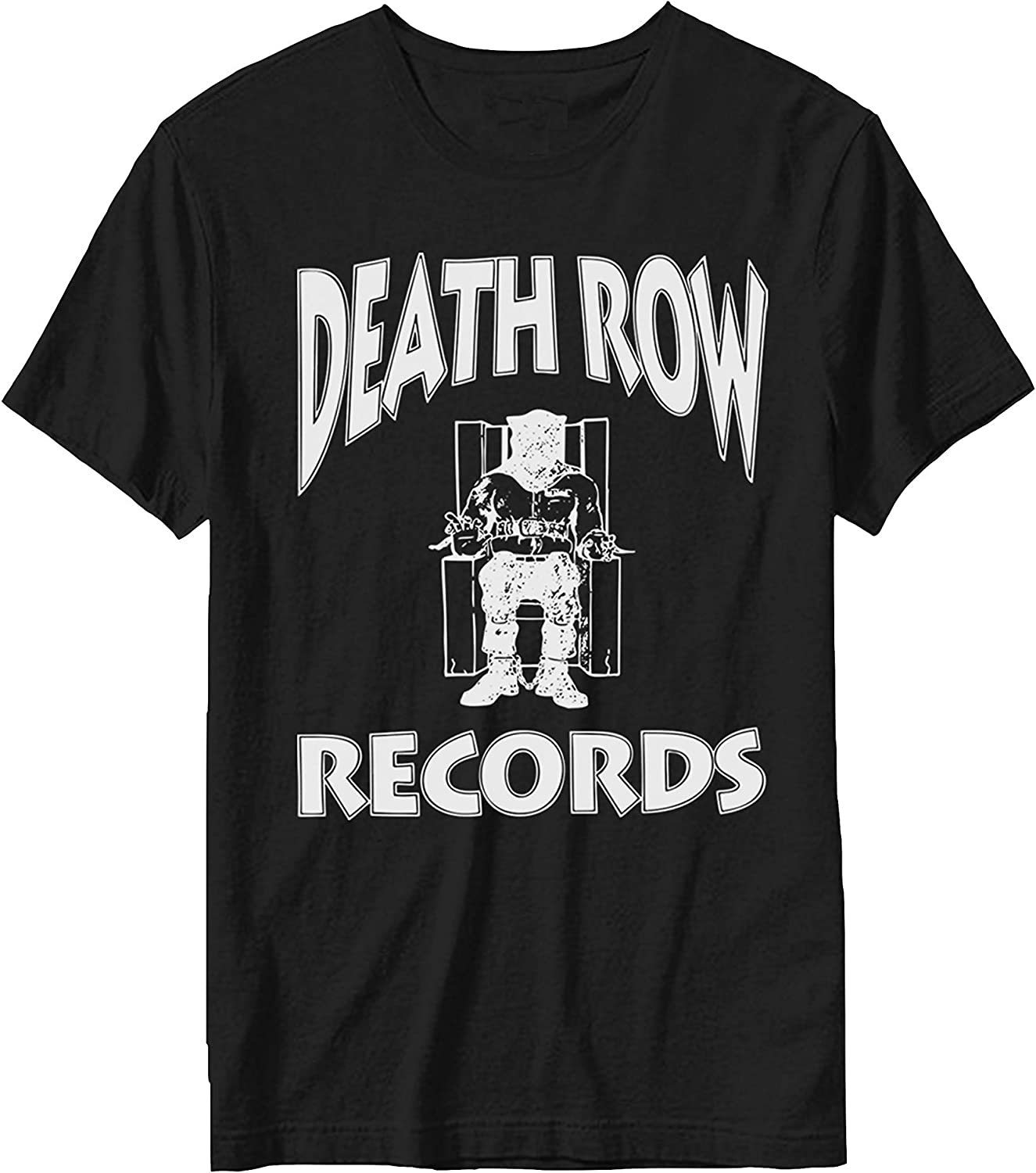 Death Row Records Offiziell Herren T-Shirt Record Label Logo