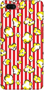 Stylizedd Oppo A3s Slim Snap Basic Case Cover Matte Finish - Popcorn Pop