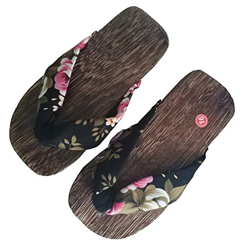 a6e2baf76ca7 Ez-sofei Girls Kids Japanese Wooden Shoes Traditional Geta Sandals (16cm 22