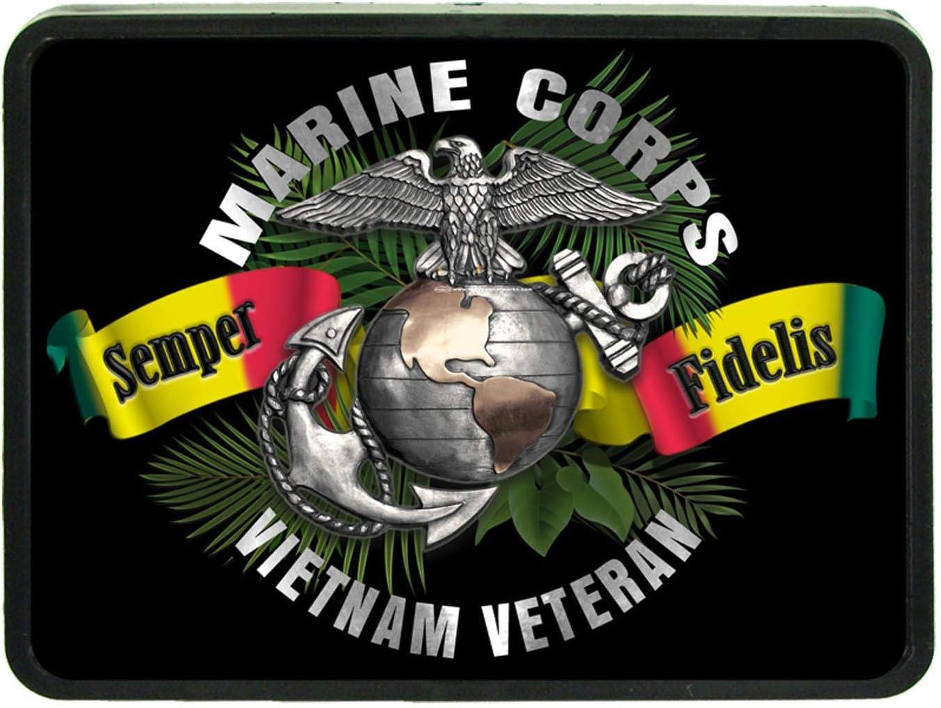 Redeye Laserworks United States Army Vietnam Veteran 1 1//4 Receiver Hitch Plug from
