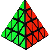 Dreampark 4x4 Pyramid Speed Cube Triangle Magic Cube Puzzle Perfect Gifts for Kids