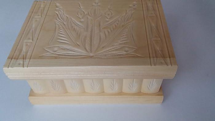b7dea6f6f36ae6 Puzzle box jewelry box natural magic treasure mystery secret compartment  storage wooden box home decor brain teaser  Amazon.co.uk  Handmade