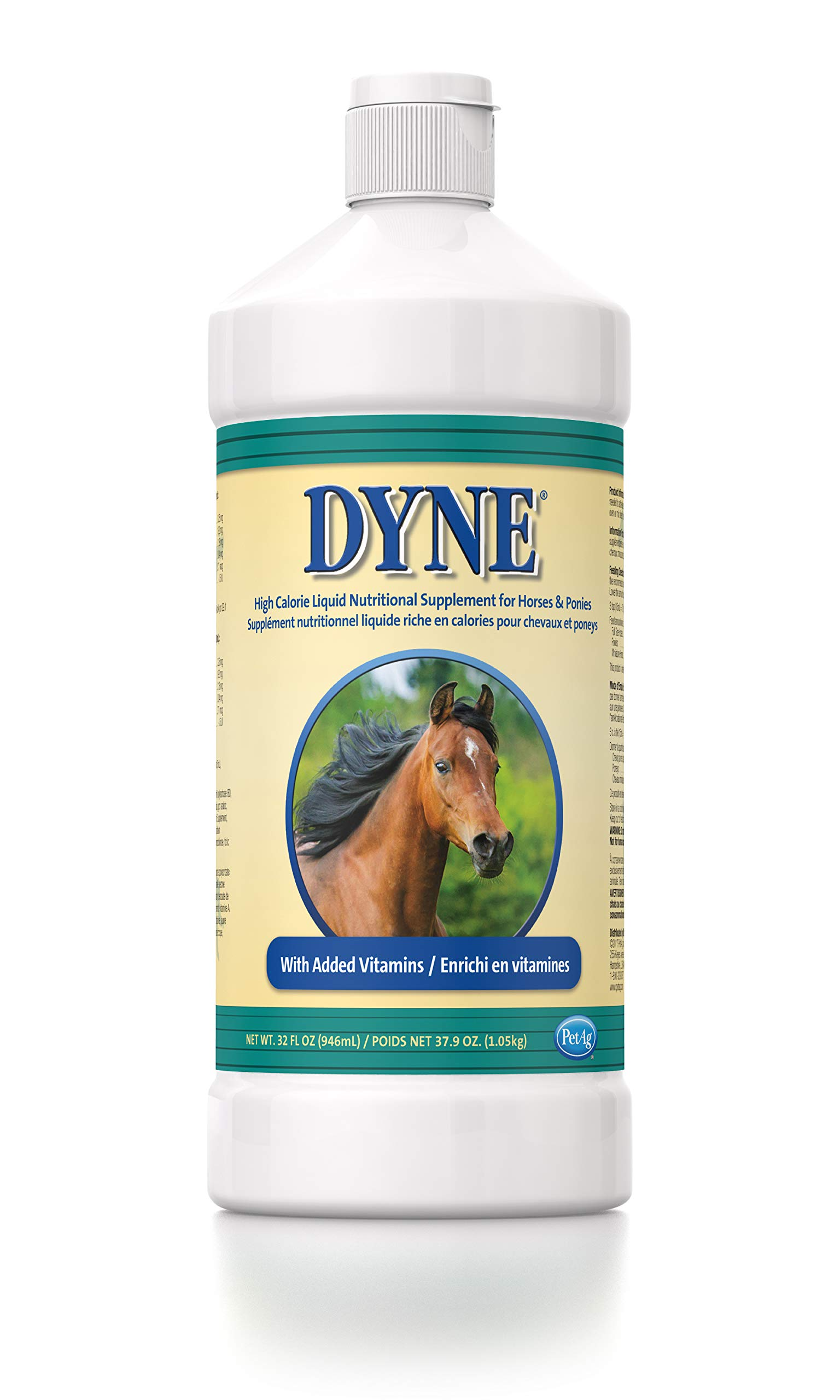 Dyne High Calorie Liquid for Horses, 32 oz by Dyne