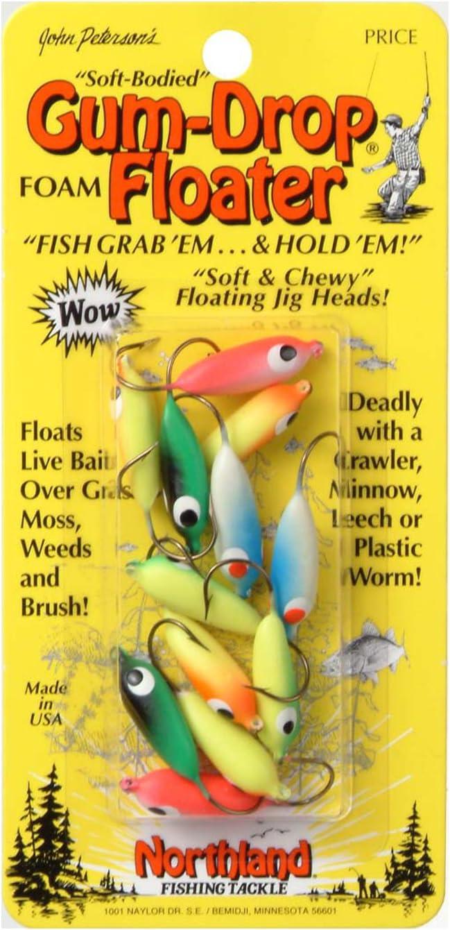 Firetiger Northland Tackle PS2-22 Gum-Drop Stingn Floater #2 Cd Gum-Drop Stingn Floater #2