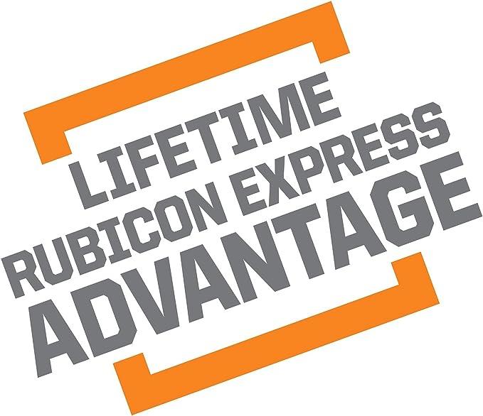 Rubicon Express RE1387 2 Rear Bump Pad for Jeep JK