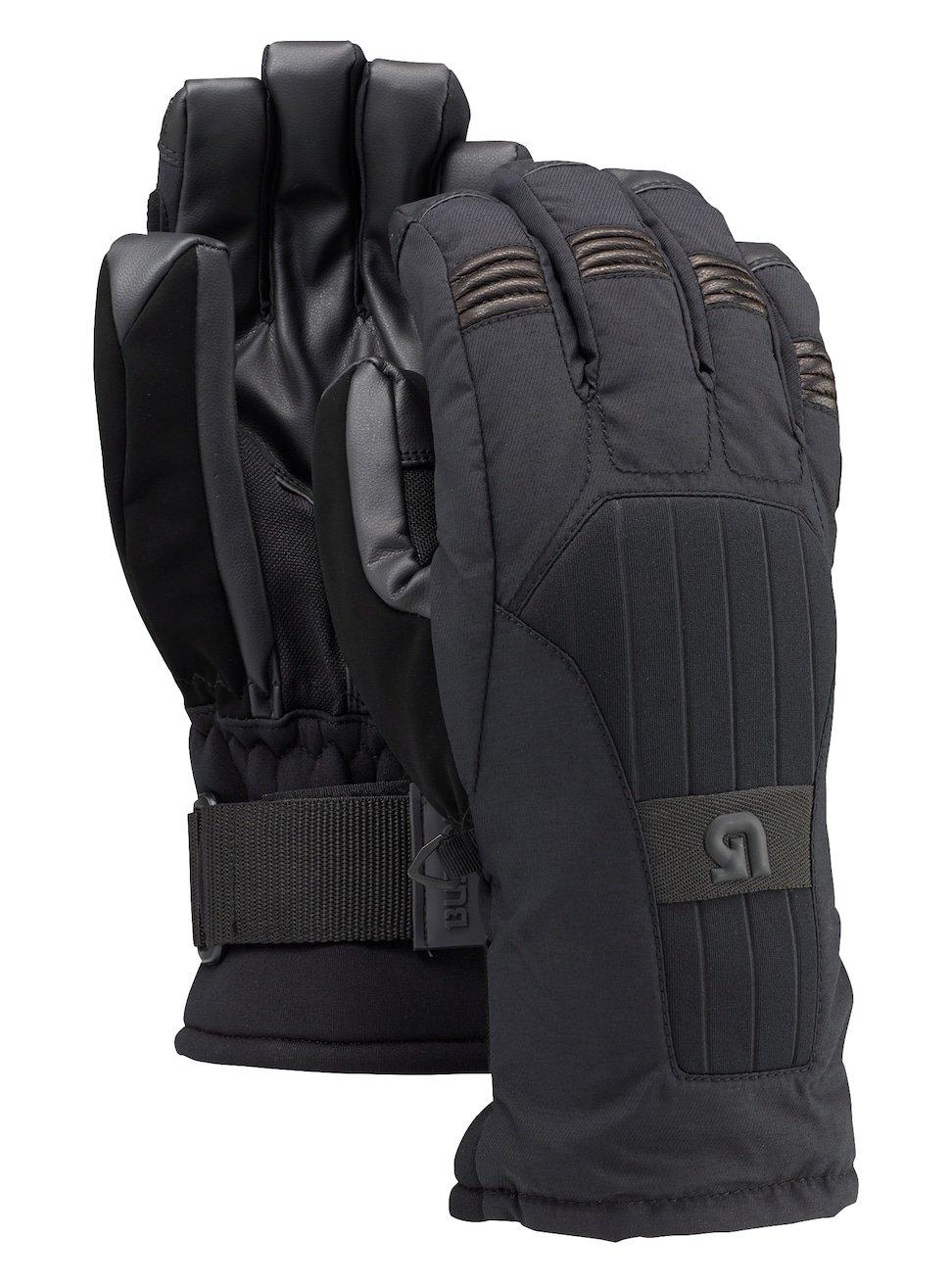 Burton Support Glove Snowboard Ski Gloves True Black Size Medium Removable Wristguard by Burton