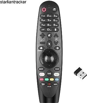 Nuevo Mando a Distancia el Control Remoto LG del para LG Smart TV w/AI ThinQ, no se Requiere configuración del televisor Control Remoto Universal LG AN-MR18BA AN-MR19BA AN-MR650A: Amazon.es: Electrónica