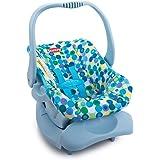 Doll Toy Car Seat - Blue Dot