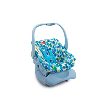 Amazon.com: Doll Toy Car Seat - Blue Dot: Toys & Games