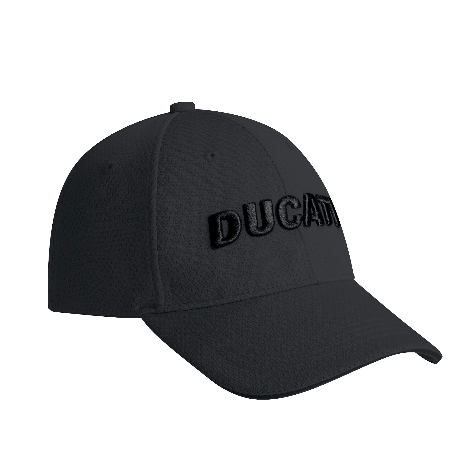 Ducati D-Attitude Adjustable Cap Hat 3D Embroidered Logo Grey Black 987695121