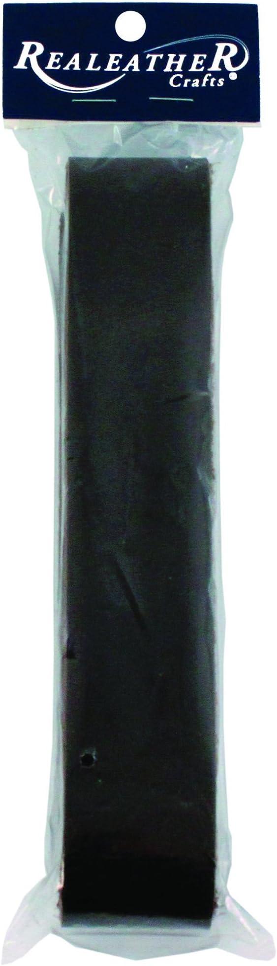 Leather Strip 1.5 by 42-Inch Medium Brown