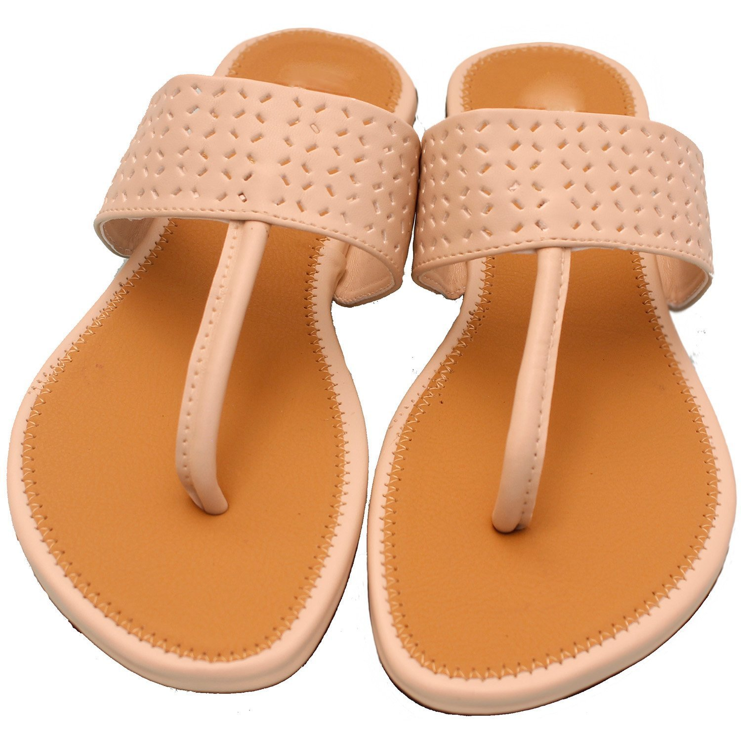 BFM Womens Vizzano Leathers Synthetic Slippers