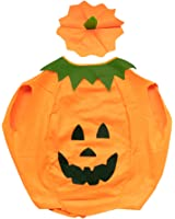 Halloween Pumpkin Costumes Party Dress for Adult
