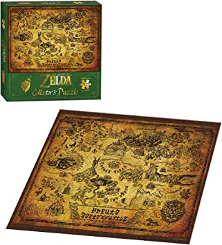 Together + - JDPNIN014 – Zelda – Puzzle The Legend of Zelda - Mapa de Hyrule: Amazon.es: Juguetes y juegos