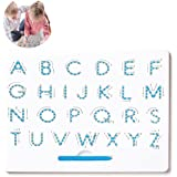 JRD&BS WINL Kids Toys the Amazing Magnatab Letter A to Z,3-12 Old Girls Children toys Puzzle Game Learning(Big, White)