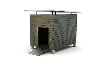 NEW CHALET-caseta para perro para perros para exteriores, diseño de casa de diseño