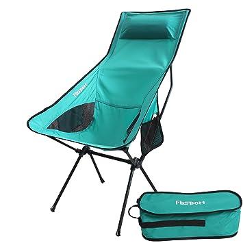 Ligero plegable silla de camping/mochila, fbsport compacto y ...