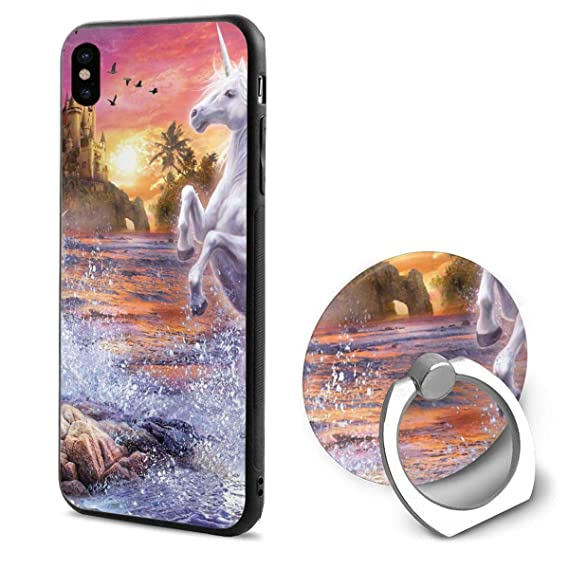 the best attitude 4cd12 419d5 Amazon.com: Most Beautiful Unicorn in The World iPhone X Case Soft ...