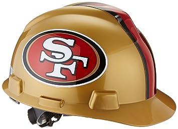 07786afb MSA 818409 NFL V-Gard Protective Cap, San Francisco 49ers