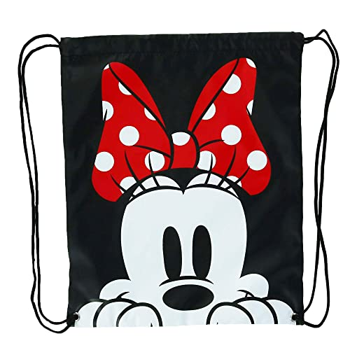 Amazon.com  Disney Minnie Mouse Face Drawstring Tote Backpack 5908536296764