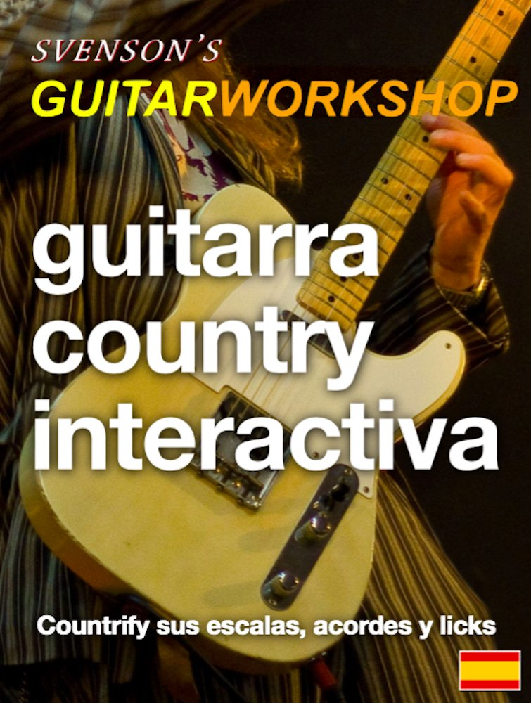 Guitarra Country Interactiva: Countrify sus escalas, acordes y ...