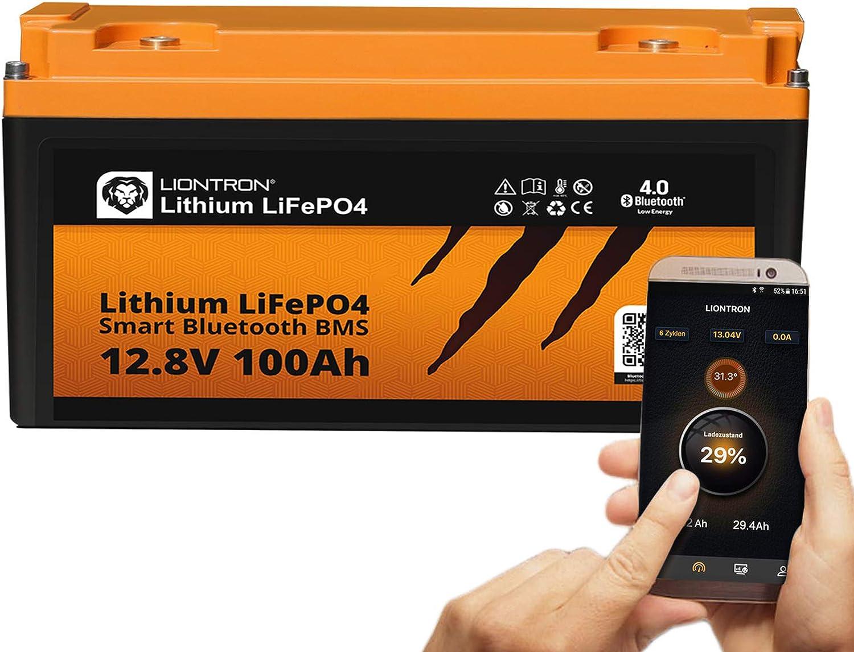 Liontron Lifepo4 12v 100ah Lithium Batterie Mit Smart Elektronik