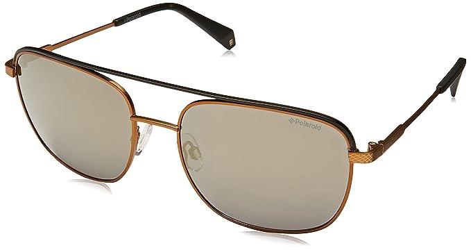 Polaroid Hombre PLD 2056/S LM 210 58 Gafas de sol, Dorado (Copper